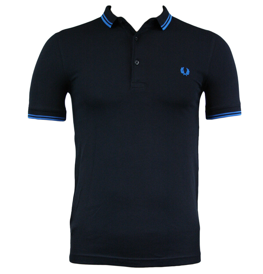 Fred Perry M6273 Mens Polo Shirt SS12 Navy Enlarged Preview